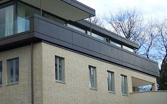 Oberfläche Privatgebäude