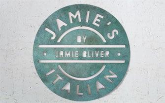Jamie Oliver Restaurant Schild